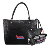 Sophia Checkpoint Friendly Black Compu Tote-The Wave