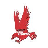 Small Decal-Red Hawk, 6 in tall