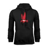 Black Fleece Hoodie-Red Hawk
