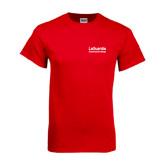 Red T Shirt-LaGuardia Wordmark