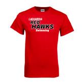 Red T Shirt-Swimming