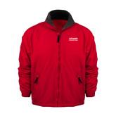 Red Survivor Jacket-LaGuardia Wordmark