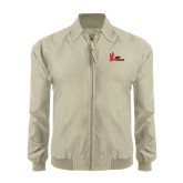 Khaki Players Jacket-LaGuardia Red Hawks