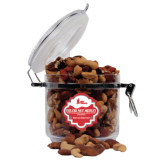 Deluxe Nut Medley Round Canister-LaGuardia Red Hawks