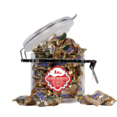 Snickers Satisfaction Round Canister-LaGuardia Red Hawks