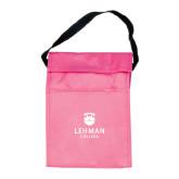 Koozie Pink Lunch Sack-University Mark