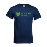 Navy T Shirt-Flat University Mark