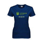 Lahman Ladies Navy T Shirt-Mom