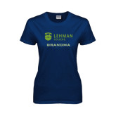 Lahman Ladies Navy T Shirt-Grandma
