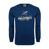 Navy Long Sleeve T Shirt-Can You Dig It