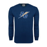 Navy Long Sleeve T Shirt-LC Lightning
