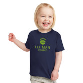 Toddler Navy T Shirt-University Mark