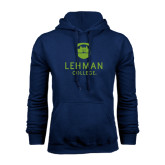 College Navy Fleece Hoodie-University Mark