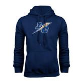 College Navy Fleece Hoodie-LC Lightning