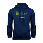 College Navy Fleece Hoodie-Dad