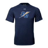 Under Armour Navy Tech Tee-LC Lightning
