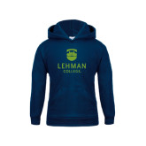 College Youth Navy Fleece Hoodie-University Mark