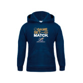 Youth Navy Fleece Hood-Game Set Match