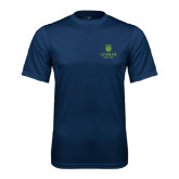 College Performance Navy Tee-University Mark