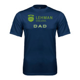 College Performance Navy Tee-Dad