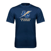 Syntrel Performance Navy Tee-Swimming and Diving