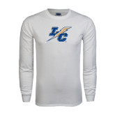 White Long Sleeve T Shirt-LC Lightning