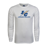 White Long Sleeve T Shirt-LC Lightning Stacked