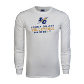 White Long Sleeve T Shirt-Can You Dig It