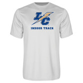 College Performance White Tee-Indoor Track And Field