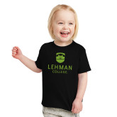 Toddler Black T Shirt-University Mark