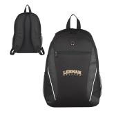 Lahman Atlas Black Computer Backpack-Arched Lehman College