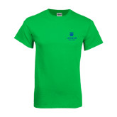 College Kelly Green T Shirt-University Mark