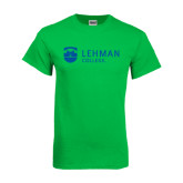 College Kelly Green T Shirt-Flat University Mark