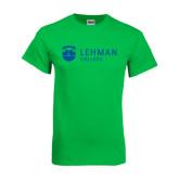 Kelly Green T Shirt-Flat University Mark