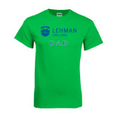 College Kelly Green T Shirt-Dad
