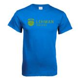 Royal Blue T Shirt-Flat University Mark