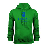 College Kelly Green Fleece Hoodie-University Mark