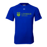 Under Armour Royal Tech Tee-Flat University Mark