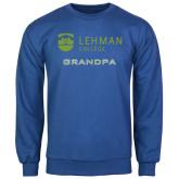 College Royal Fleece Crew-Grandpa