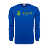 Royal Long Sleeve T Shirt-Flat University Mark