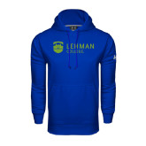 College Under Armour Royal Performance Sweats Team Hoodie-Flat University Mark
