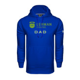 College Under Armour Royal Performance Sweats Team Hoodie-Dad