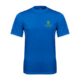 College Performance Royal Tee-University Mark
