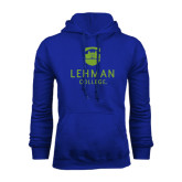 College Royal Fleece Hoodie-University Mark