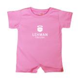 Bubble Gum Pink Infant Romper-University Mark