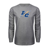 Grey Long Sleeve T Shirt-LC Lightning