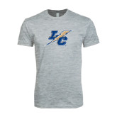 Next Level SoftStyle Heather Grey T Shirt-LC Lightning