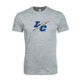 Next Level SoftStyle Heather Grey T Shirt-LC Lightning
