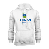 College White Fleece Hoodie-University Mark