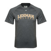 Under Armour Carbon Heather Tech Tee-Arched Lehman College